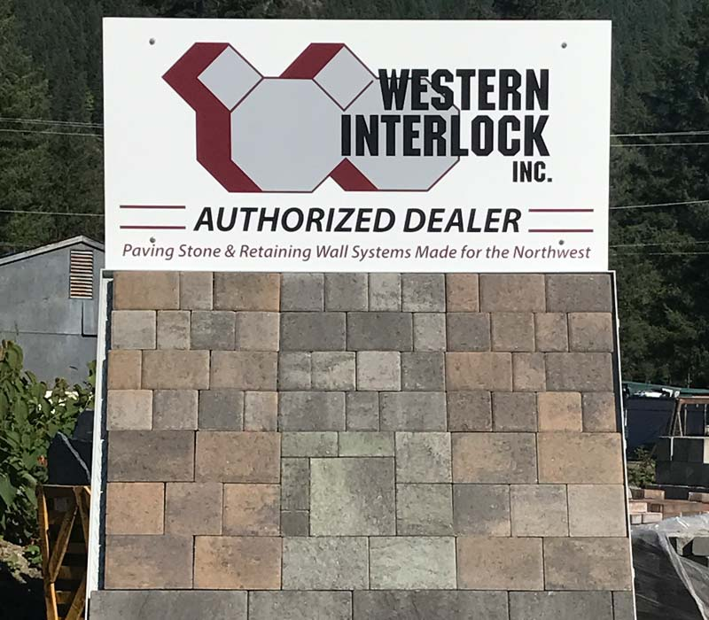 For your hardscaping needs!